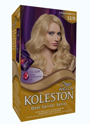 Koleston Koleston Kit Saç Boyası 12/0 Ekstra Açık Sarı Renkli